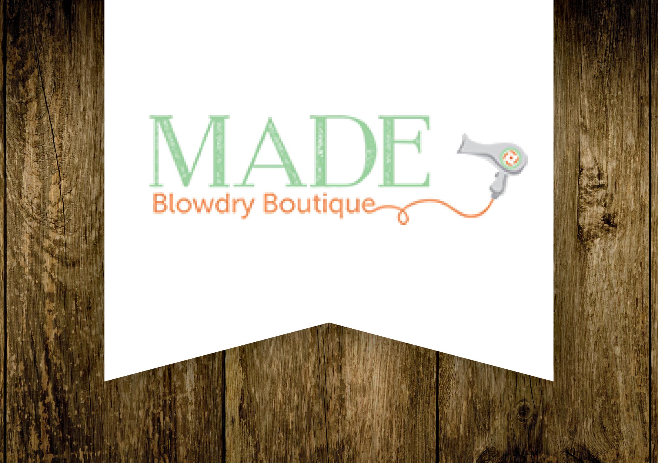 MADE Blowdry Boutique Logo