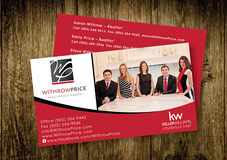 Withrow Price Business Cards