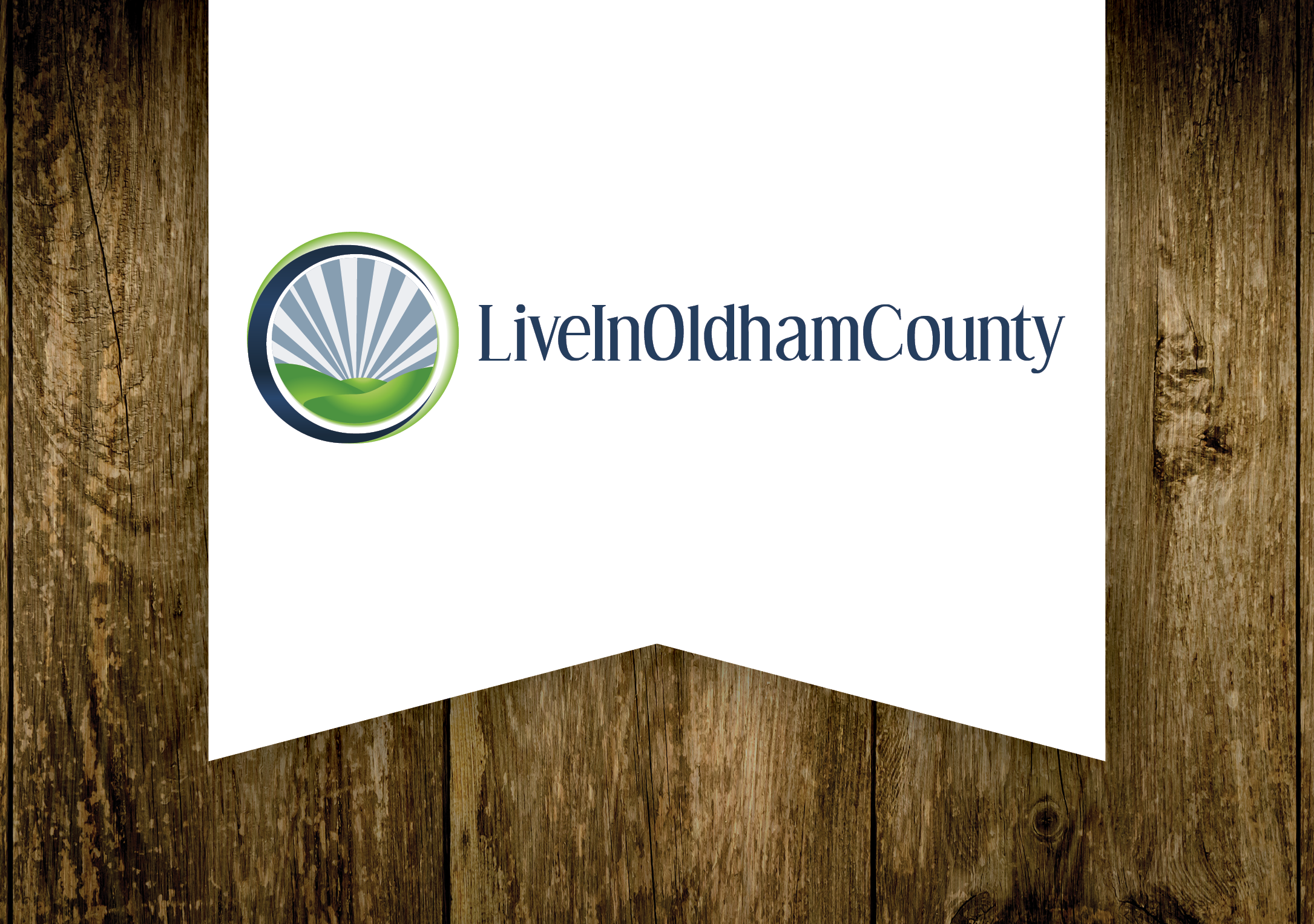 Live in Oldham County Logo