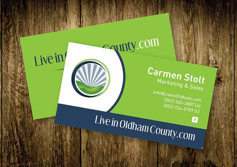 Live in Oldham County Business Card