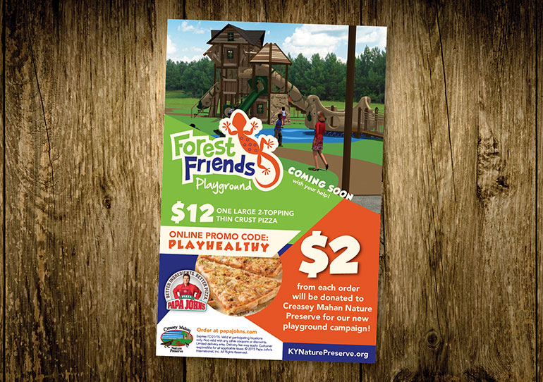 Forest Friends Flyer