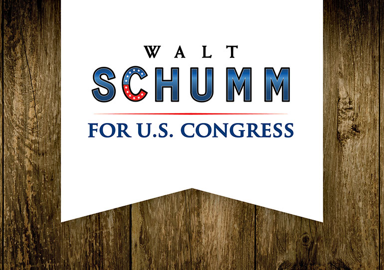 Walt Schumm for Congress Logo