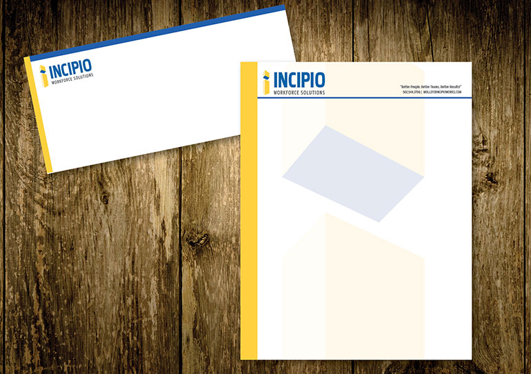Incipio Letterhead and Envelope