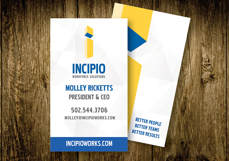 Incipio Vertical Business Card