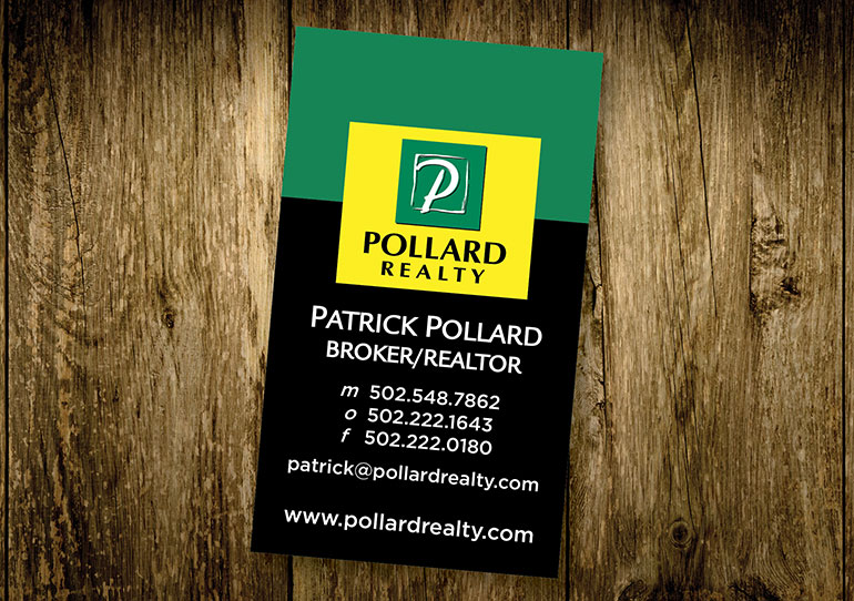 Pollard Realty Business Card Design