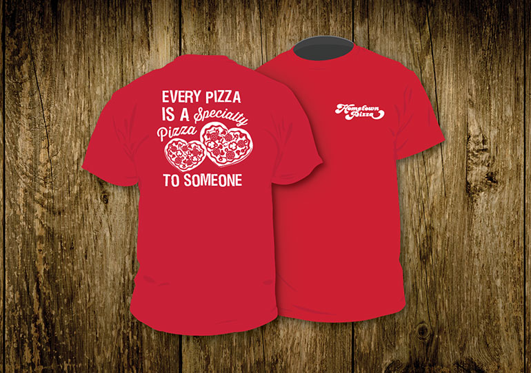 Specialty Pizza T-Shirt Design