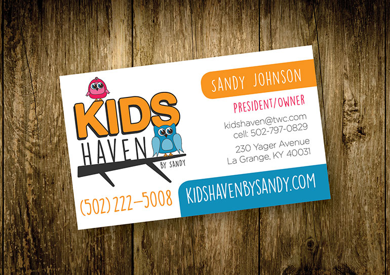 Kids Haven Business Card